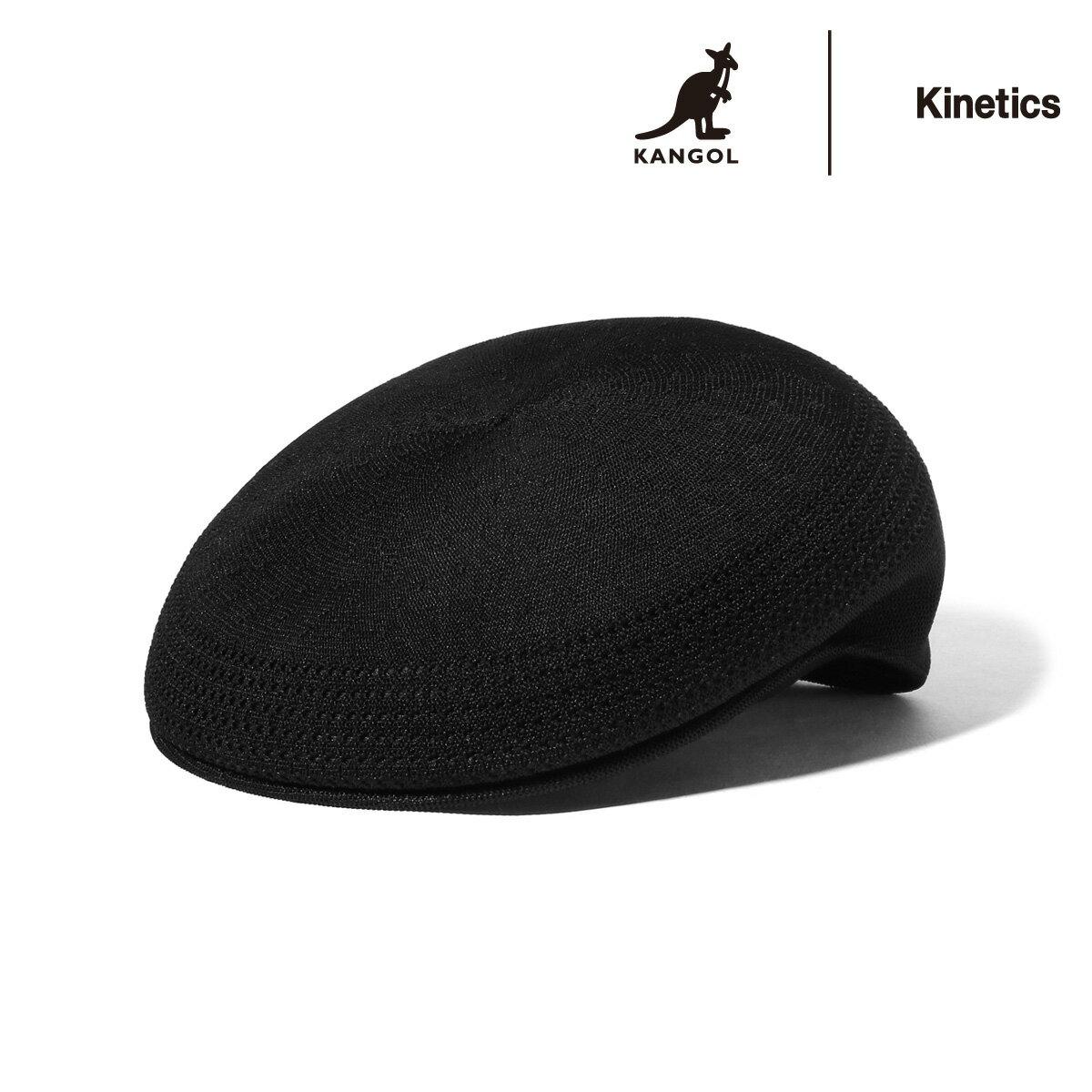 KANGOL × Kinetics Tropic 504 (Black) 【帽子】【18FW-S】