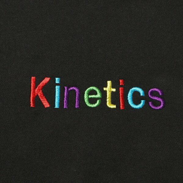 KineticsOGLogoEmbroideryCrewSweat(キネティクスOGロゴエンブロイドリークルースウェット)(BLACK)【メンズ】【スウェット】【19SS-I】
