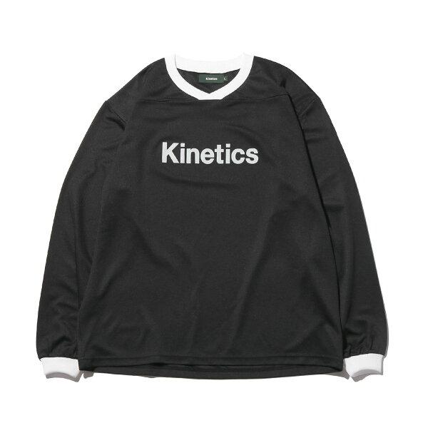 KineticsOGLogoLSJersey(BLACK)(キネティクスOGロゴLSジャージー)【メンズ】【長袖】【19SS-I】