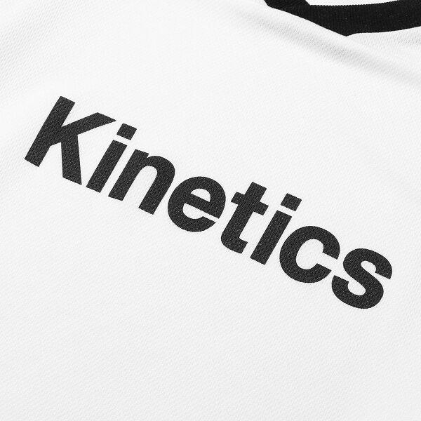 KineticsOGLogoLSJersey(WHITE)(キネティクスOGロゴLSジャージー)【メンズ】【長袖】【19SS-I】