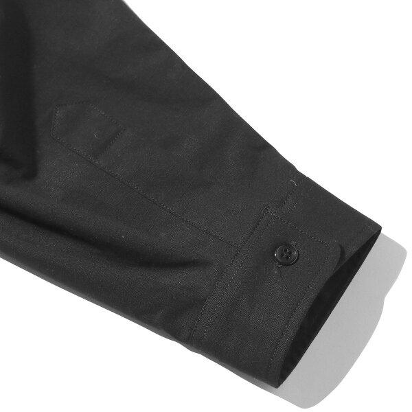 KineticsRipstopBigLSShirt(BLACK)(キネティクスリップストップビッグLSシャツ)【メンズ】【シャツ】【19SS-I】