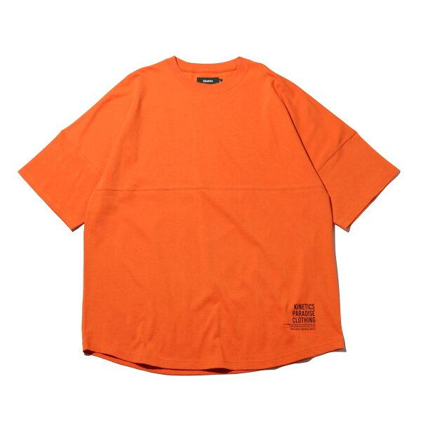 KineticsBigRoundSST-Shirt(ORANGE)(キネティクスビッグラウンドSSTシャツ)