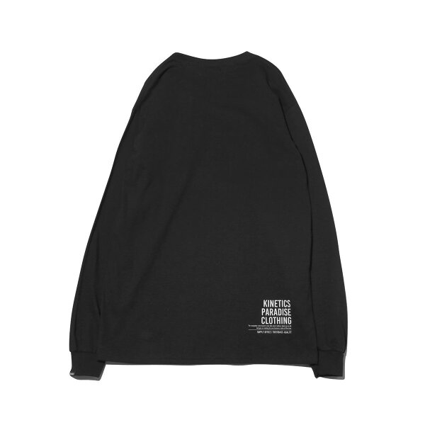 KineticsBoxLogoPocketLST-Shirt(BLACK)(キネティクスボックスロゴポケットLSTシャツ)【メンズ】【ロンT】【19SS-I】