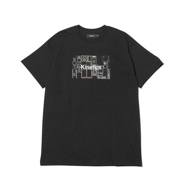 KineticsLoudspeakerT-Shirt(BLACK)(キネティクスラウドスピーカーTシャツ)【メンズ】【半袖】【19SS-I】