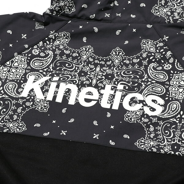 Kinetics×ColumbiaRedTablePinesHoodie(012/BLACKPAISLEYPRINT)【OMNI-SHIELD】【OMNI-WINDBLOCK】【18AW-S】
