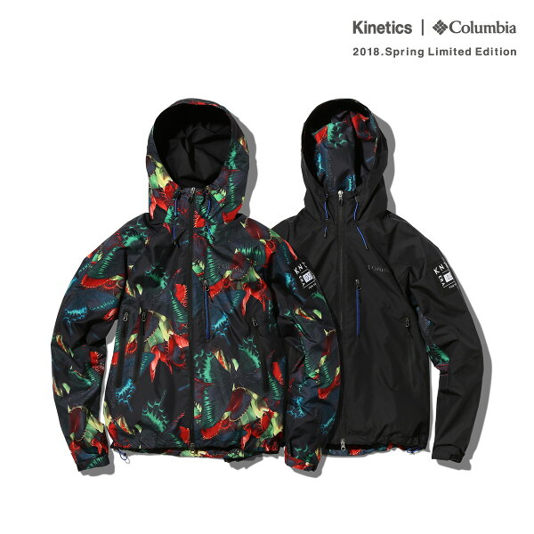Kinetics×ColumbiaPlinyPeakJacket(2色展開)【OMNI-SHIELD】【撥水】【防汚】【18SP-S】