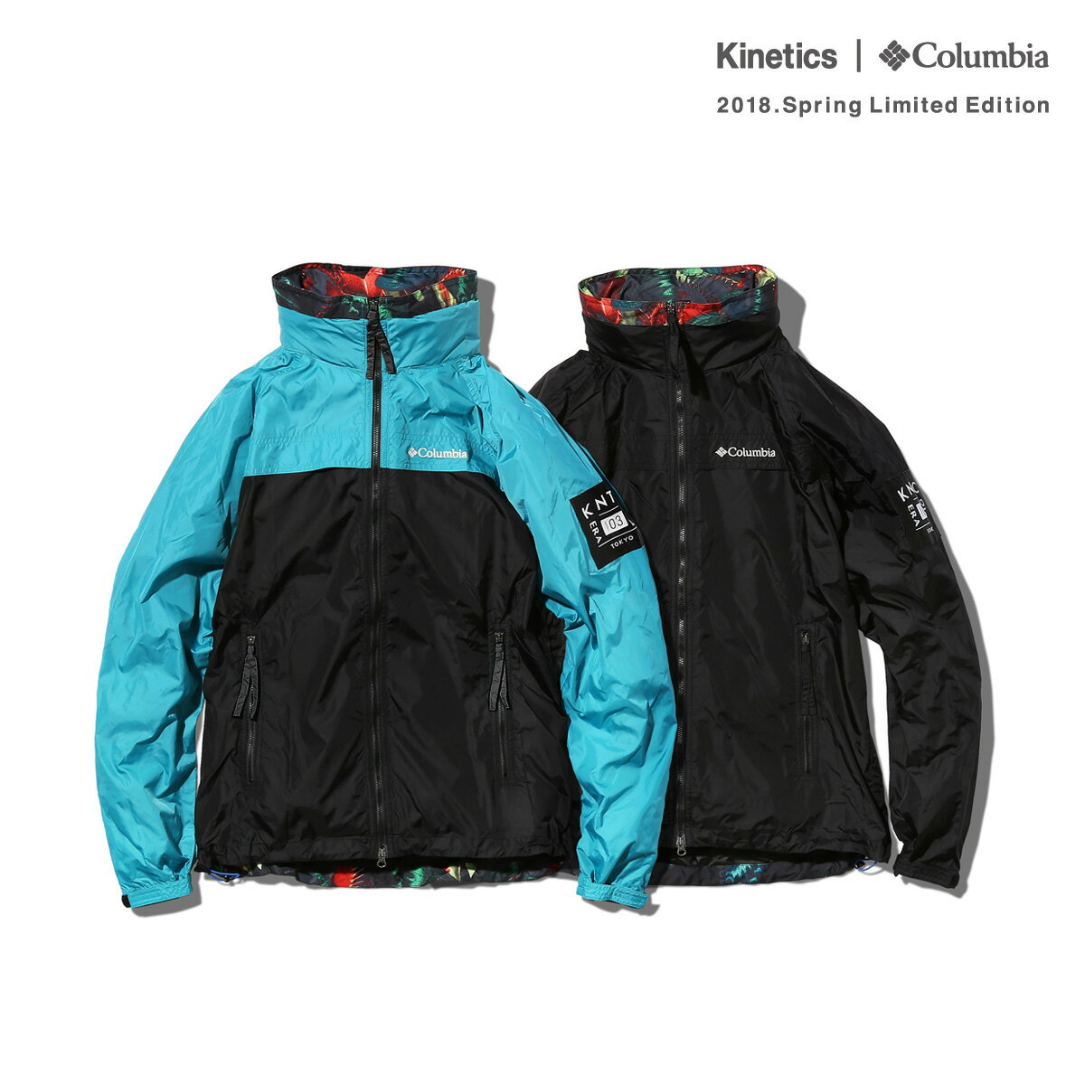 Kinetics × Columbia Sawtooth Jacket (2色展開) 【OMNI-SHIELD】【撥水】【防汚】【18SP-S】