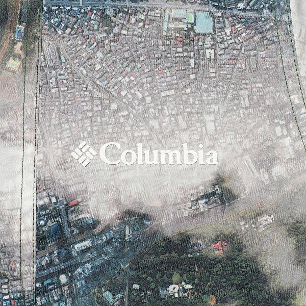 Kinetics×ColumbiaElginJacket(011/AEROPHOTOGRAPHPRINT)【リバーシブル】【撥水】【防汚】【18AW-S】