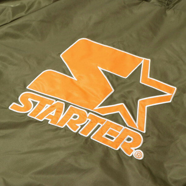 STARTERxKineticsBENCHCOAT(KHAKI/ORANG)(スターターxキネティクスベンチコート)【メンズ】【コート】【18FW-S】