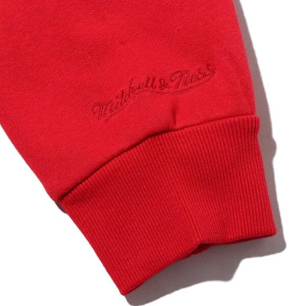 Mitchell&NessOldEnglishHoody-HO.Rockets(RED)(ミッチェルアンドネスオールドイングリッシュフーディロケッツ)【メンズ】【パーカー】【20SS-I】
