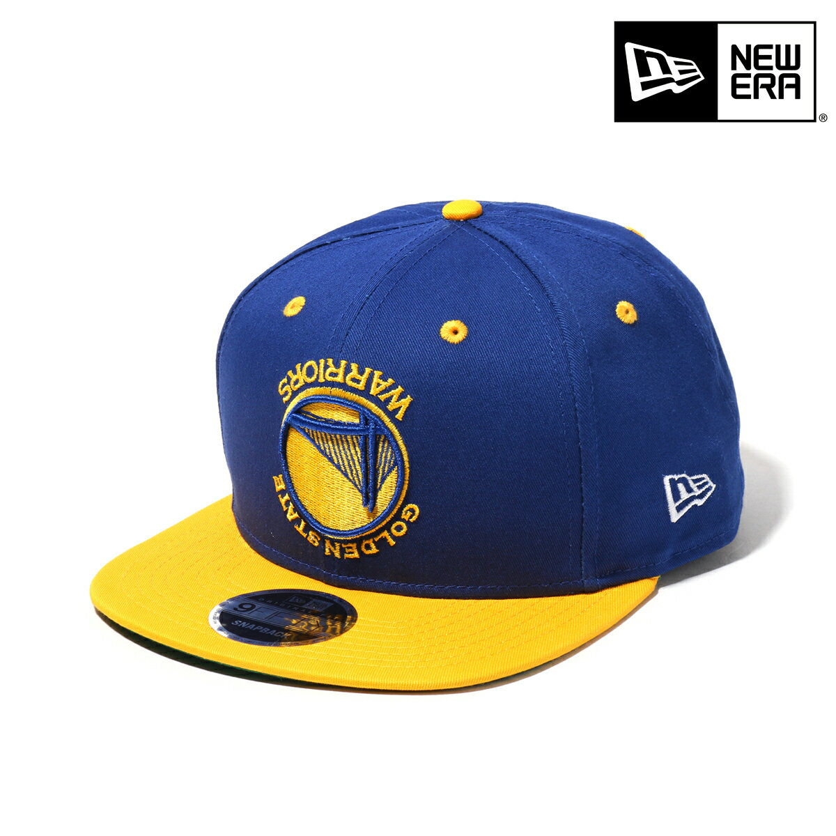NEWERA 9FIFTY Original Fit UPSIDEDOWN-GOLDEN STATE WARRIORS(ROYAL/GOLD)(ニューエラ ナインフィフティー オリジナルフィット ゴールデンステート ウォリアーズ)【帽子】【18SP-I】
