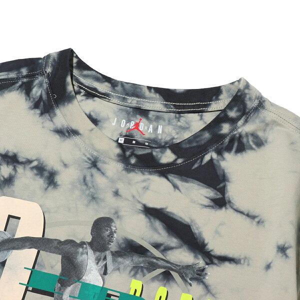 NIKEMJSWTEEAIRJORDANWASH(SPRUCEFOG/BLACK)(ナイキジョーダンエアジョーダンウォッシュTシャツ)【メンズ】【半袖Tシャツ】【19SU-I】
