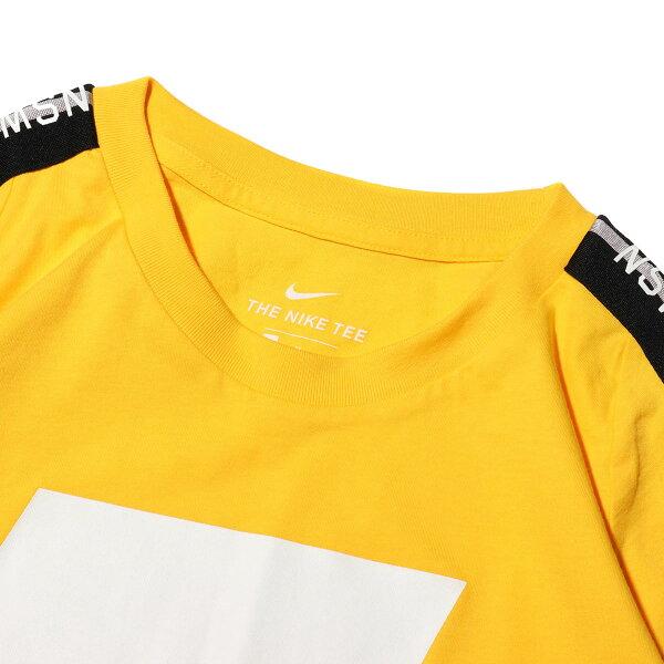 NIKEASMNSWTEENSW2(AMARILLO/WHITE)(ナイキNSW2Tシャツ)【メンズ】【半袖Tシャツ】【19SU-I】