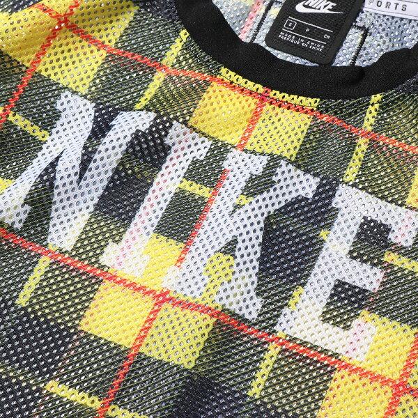 NIKEASWNSWNSPTOPSSMESHAOP(CHROMEYELLOW/BLACK/WHITE)(ナイキウィメンズNSPメッシュS/SAOPトップ)【レディース】【半袖Tシャツ】【19FA-I】