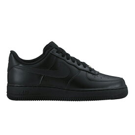 d70add45514a2a NIKE WMNS AIR FORCE 1 '07 (BLACK/BLACK) (ナイキ ウィメンズ エア