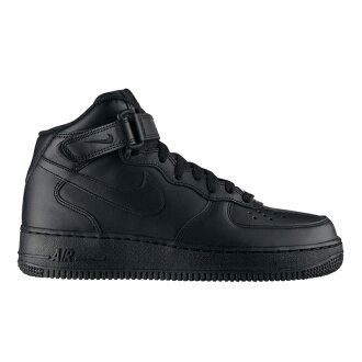 f3fd3772 NIKE WMNS AIR FORCE 1 MID ' 07 (BLACK/BLACK) (Nike women's air force 1 mid  ' 07) CRYOVR