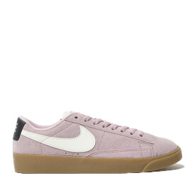 NIKE W BLAZER LOW SD(PLUM CHALK/SAIL-OIL GREY-GUM LIGHT BROWN)(ナイキ ウィメンズ ブレーザー ロー SD)【レディース】【スニーカー】【19SP-I】