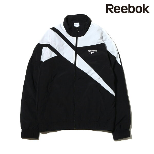 ReebokLFVECTORTRACKTOP(BLACK/WHITE)(リーボックロスト&ファウンドベクタートラックトップ)【メンズ】【ジャケット】【18SS-S】