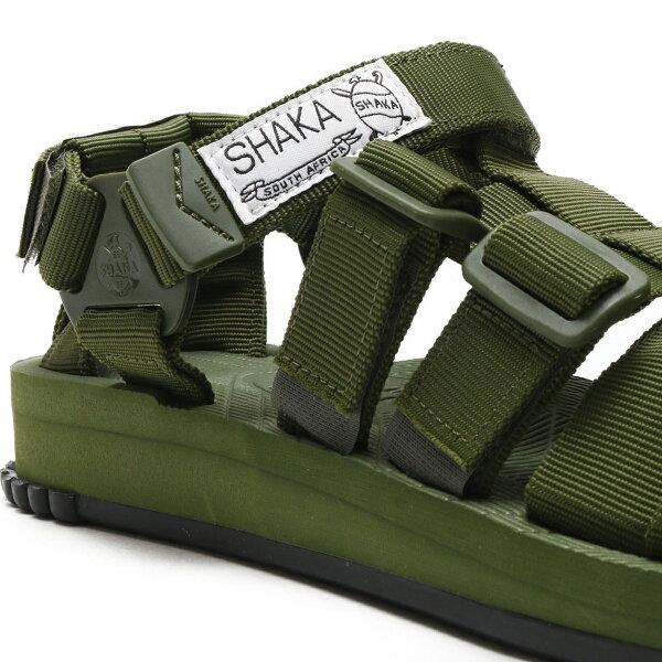 SHAKAHIKER(Olive)(シャカハイカー)【メンズ】【レディース】【サンダル】【18SS-S】