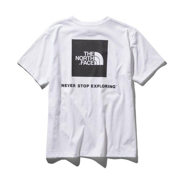 THENORTHFACES/SSQUARELOGOTEE(ホワイト)(ザ・ノース・フェイスショートスリーブスクエアロゴティー)【メンズ】【Tシャツ】【19SS-I】