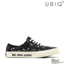 UBIQ NATE PEANUTS_JC(BLACK)(ユービック ネイト ピーナッツ ジョー・クール)【メンズ】【レディース】【スニーカー】【17FA-I】