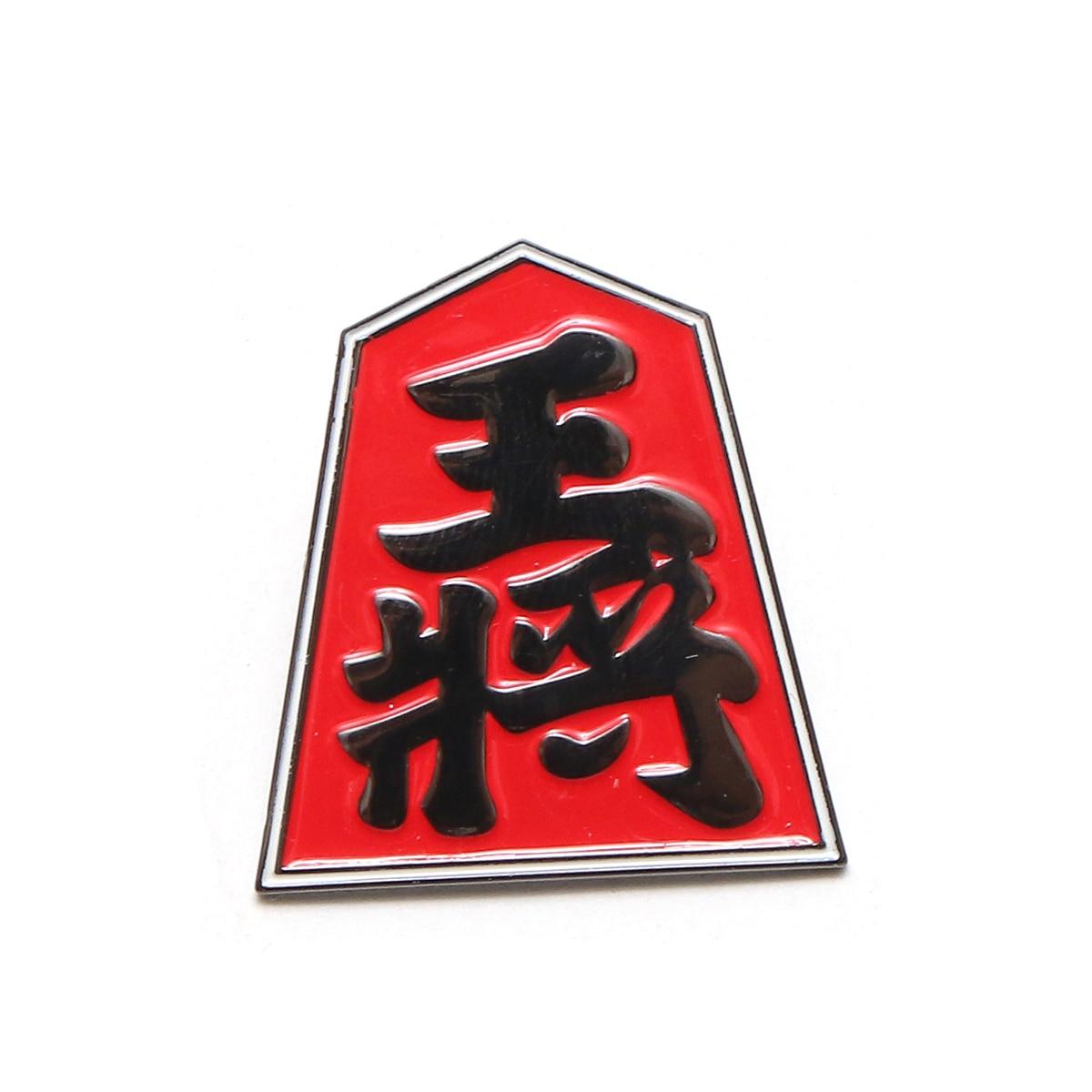 UBIQ IREZUMI PINS THREE TIDES TATTOO(SYOGI Designed by HORIHIRO MITOMO)(ユービック ピンズ スリータイズタトゥー)【ピンバッチ】【17FW-I】