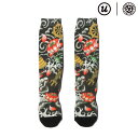 "THREE TIDES TATTOO × UBIQ ""IREZUMI"" SOCKS (Butsugu) Designed by Horitatsu 【靴下】【1..."
