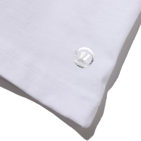 "UBIQ""IREZUMI""T-SHIRT(Hevi&Botan)DesignedbyMUTSUO(WHITE)(イレズミティシャツヘビアンドボタンデザインドバイムツオ)【メンズ】【半袖】【18SP-I】"