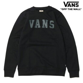 VANS GRANBY CREW(BLACK)(バンズ グランビー クルー)【Kinetics】【スケートボード】【ストリート】【16FW-I】