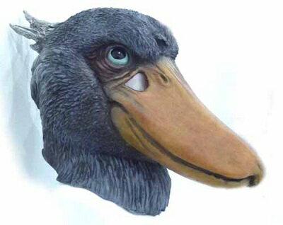 在庫あり!!【送料490円】アニマルマスク ハシビロコウ 鳥のマスク 被り物 コスプレ