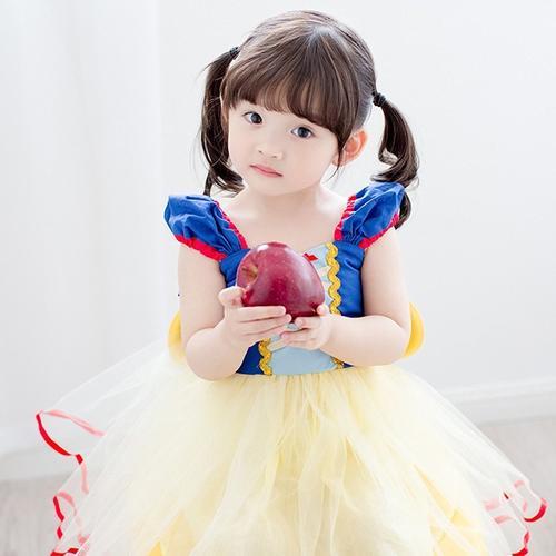 在庫あり!!【メール便送料無料】白雪姫 子供用 コスチューム 【90cm】 仮装 ハロウィン コスプレ プリンセス