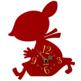 【クーポン最大600円OFF!】あす楽!!【送料無料】 ムーミン シルエット 時計 リトルミイ シルエット時計 リトルミィ ミイ MOOMIN
