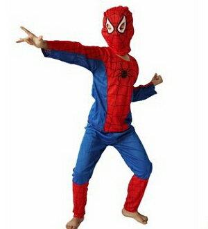 ハロウィン【メール便送料無料】コスチューム キッズ スパイダーマン M 仮装 コスチューム ハロウィン コスプレ 子供用 子供