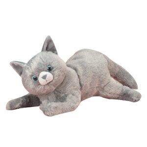 【クーポン最大600円OFF!】あす楽!!【送料無料】なでなでねこちゃんDX3 ロシアンブルーちゃん ぬいぐるみ 人形 センサー 猫 ねこ ネコ ロシアンブルー 鳴き声 鳴く高齢者 こども ペット おし