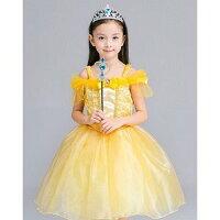 プリンセスお姫様ドレスベル110cm