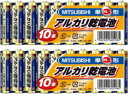 【代金引換不可】三菱電機 三菱アルカリ乾電池 単3型(LR6N/10S) ...
