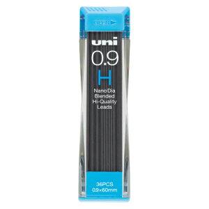 三菱鉛筆 ユニシャープ芯ナノダイヤ0.9 H x 1個 【70704】【AC】/文具 ナノダイヤ0.9MMシン(36ホンイリ)