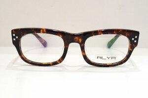 ALYA AL016 col.03ヴィンテージメガネフレーム新品めがね眼鏡サングラスメンズレディースべっ甲柄ブランドクラシック
