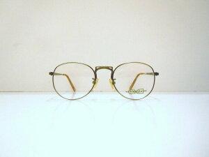 ROUND CROSS SQUARE(ラウンドクロススクエアー)90-004 col.ATSメガネフレーム新品彫金めがね眼鏡ヴィンテージ