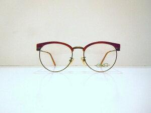 ROUND CROSS SQUARE(ラウンドクロススクエアー)90-001 col.ATBメガネフレーム新品ブロー彫金ヴィンテージめがね眼鏡