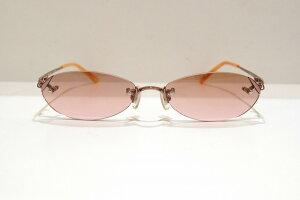 NICE CLAUP(ナイスクラップ)NC-3033 col.2ヴィンテージサングラス新品めがね眼鏡メガネフレームふちなしメンズレディース