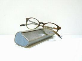 OnimeganeオニメガネOG-7809メガネフレーム新品めがね眼鏡グリーン手作り職人鯖江ボストン型可愛いクラシック