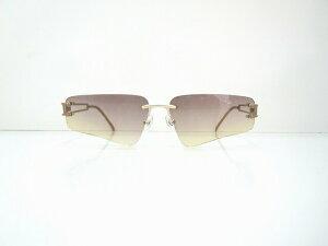 ALEXANDER MCQUEEN(アレキサンダーマックイーン)42-0030 col.1ふちなしヴィンテージサングラス新品めがね眼鏡メガネフレームデッドストック