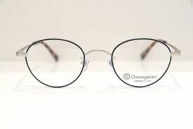Onimegane(オニメガネ)OG-7214 col.BLメガネフレーム新品めがね眼鏡サングラスボストン型クラシックメンズレディース