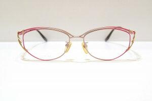 Revillon(レヴィオン)RE-4145 col.2ヴィンテージメガネフレーム新品めがね眼鏡サングラス鯖江ブランド婦人レディースジェイ用