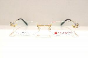 HARLEQUIN(ハーレクィーン)ribbon art col.2ヴィンテージメガネフレーム新品めがね眼鏡サングラスふちなし高級ブランド女性婦人