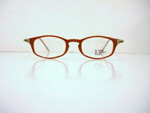 ICON IC-112 ヴィンテージメガネフレーム新品 めがね眼鏡サングラスクラシックメンズレディース鯖江彫金ブランド