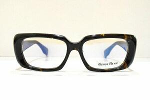 GROSS RUSH(グロスラッシュ)GR-0005 メガネフレーム新品 めがね 眼鏡 サングラス べっ甲柄 おしゃれ