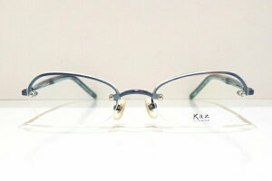 Kaz(カズ)K-001 メガネフレーム新品 めがね 眼鏡 サングラス ふちなし かっこいい ビジネス おしゃれ