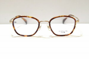 G4 Old & New 1682 G/DMメガネフレーム新品めがね眼鏡サングラスメンズレディースべっ甲柄クラシック手作りブランド